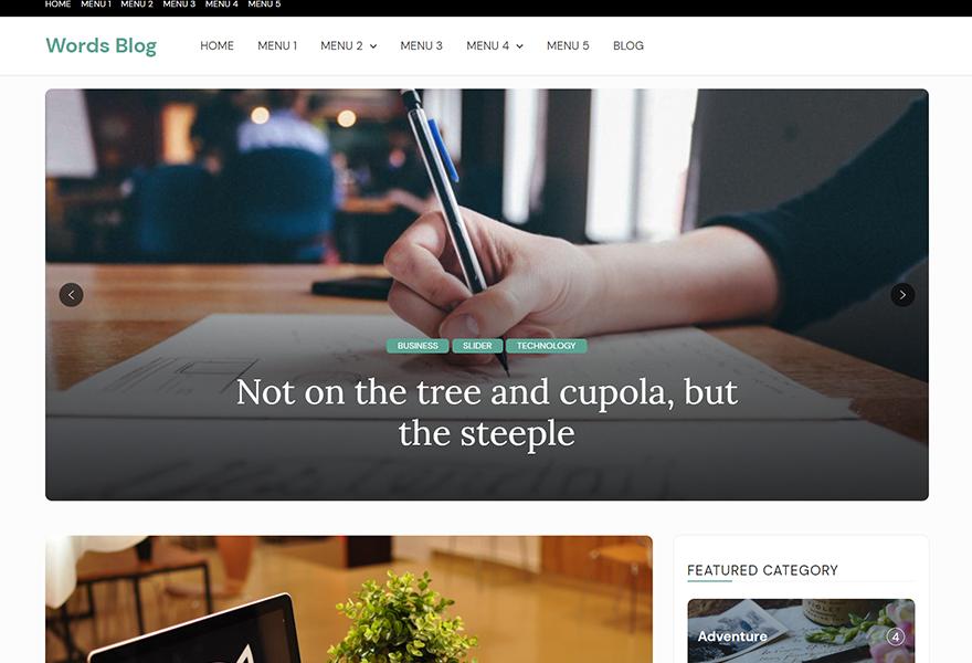 Words Blog